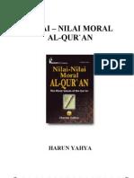 Nilai Nilai Moral Al Qur'An