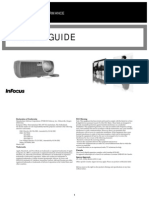 Infocus X3 Reference Guide En
