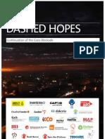 Dashed Hopes Continuation of The Gaza Blockade