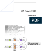 ISA 2006 Lab Manual