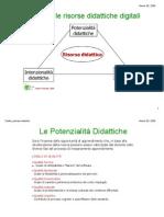 Risorse del Web e didattica