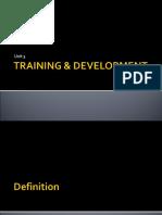 Training & Development (1)