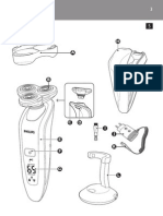 Electric Shaver Philips RQ1060 User Manual
