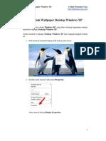 Merubah Wallpaper Windows XP