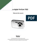 ViviCam 7022 Camera Manual