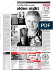 The Quill Awards in the Herald Sun, April 2
