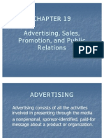 Advertising, Sales, Promotion, And Public Relations