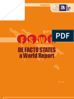 De facto States – a World Report  2011 (www.igadi.org)