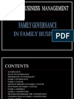 Presentation on Governance