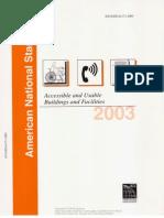 ANSI A117.1-2003