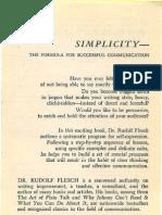 Think More Effectively Rudolf Flesch
