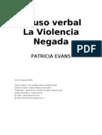 Abuso Verbal DE Evans, Patricia