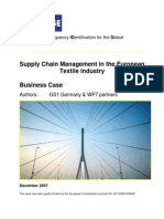 BRIDGE WP07 Textile Industry - Business Case