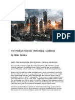 The Political Economy of Declining Capitalism by Hillel Ticktin