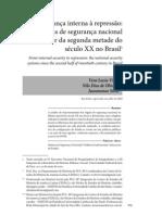 Vera Vieira; N. Oliveira e Jussaramar Silva.Da segurança interna à repressão...