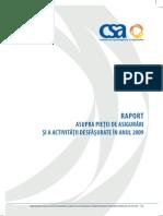 Raport CSA 2009