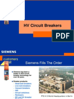 HV Circuit Breakers