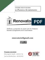 Informe Profesores Pianistas Acompañantes