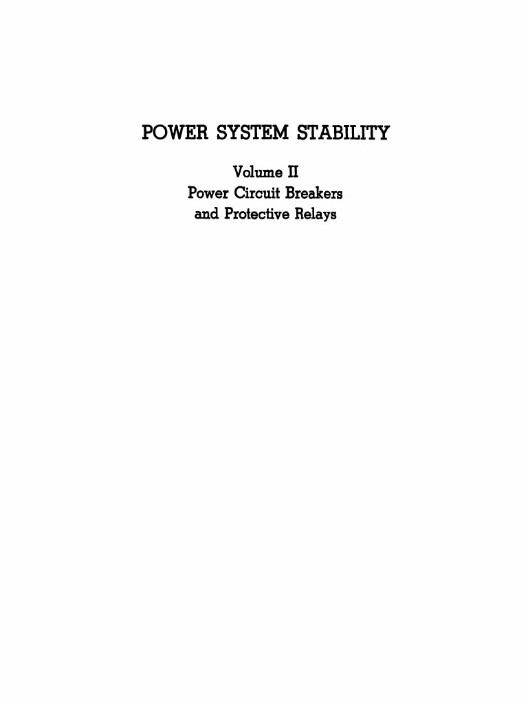 Power system stability vol ii kimbark electric arc capacitor fandeluxe Choice Image