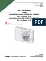 Kodak C140_CD14 EasyShare Digital Camera Sm
