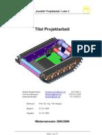 Vorlage Projektarbeit (1)