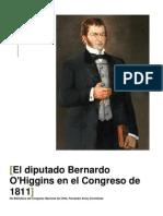 El Diputado Bernardo OHiggins Riquelme