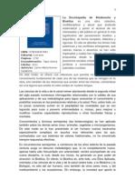 La Enciclopedia de Bioderecho y Bioética es una obra colectiva