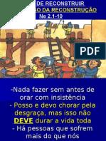 TEMPO DE RECONSTRUIR  O PROCESSO NEEMIAS 2