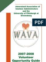 Volunteer Handbook West More Land