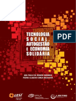 Tecnologia Social, Autogestao e Economia Solidária