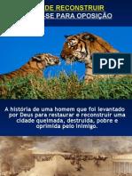 TEMPO DE RECONSTRUIR-PREPARE-SE PARA A OPOSIÇÃO