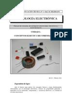 Tecnología Electrónica - Unidad I