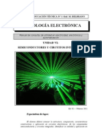 Tecnología Electrónica - Unidad VI