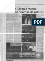 Participação da ADESG na 32 Edição dos COLÓQUIOS DE RELAÇÕES INTERNACIONAIS