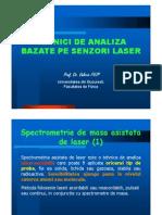 Tehnici de Analiza Bazate Pe Senzori Laser