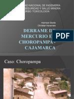 Derrame de Mercurio en Choropampa - Cajamarca