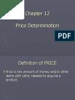 Price Determination