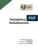 Señalética y señalizacion