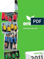 ERIMA Catalogue 2011
