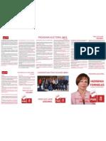 Resumen Programa PSOE Ogíjares 2011