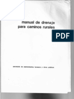Manual de Drenaje Para Caminos Rurales