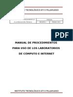 Manual de Procedimiento de Uso Del Lab Oratorio