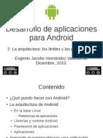 Desarrollo de aplicaciones p/Android. 2