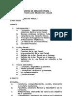 Apuntes de Derecho Penal i