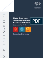 WEF Digital Ecosystem Scenario 2015 Executive Summary 2010