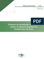 proposta de atualizaçao da segunda ediçao do sistema brasileiro de classificaçao de solos