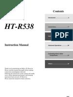 Manual Ht-s5305 Ht-r538 En