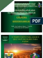 QUES.  DE SST - ORIENTAÇÃO SEXUAL - Conscência Corporal