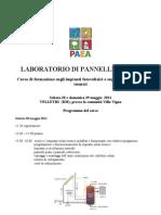 Lab Oratorio Pratico Di Pannelli Solari