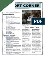 Cohort Corner Issue 36